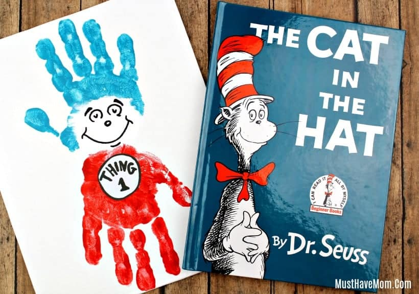 Cat in the hat art project.