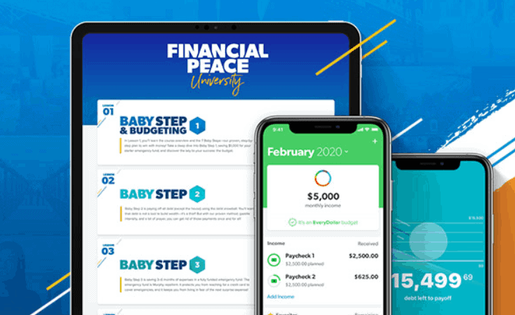 How to find financial peace through Dave Ramsey Financial Peace University program.