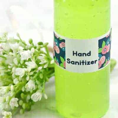 Kid Safe Moisturizing Hand Sanitizer Recipe