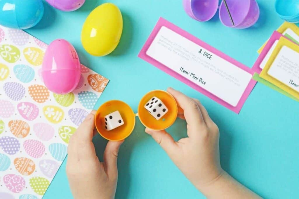 Homemade resurrection eggs printable.