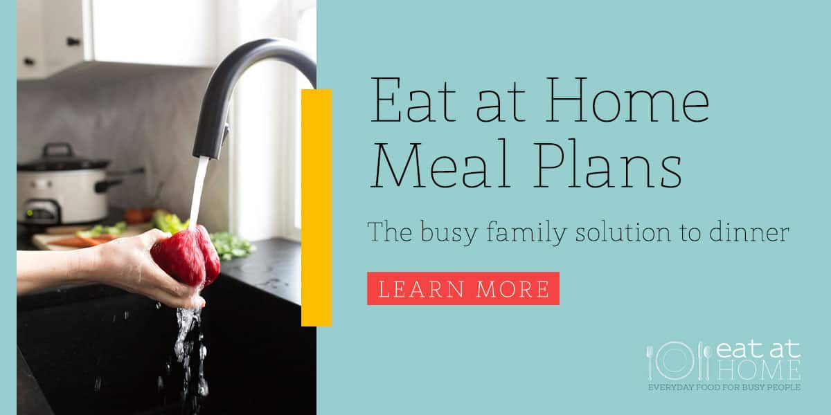 Eat at Home Meal Plan sale