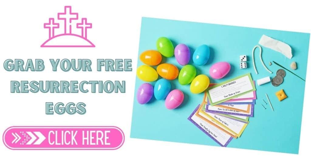 Free resurrection eggs printable