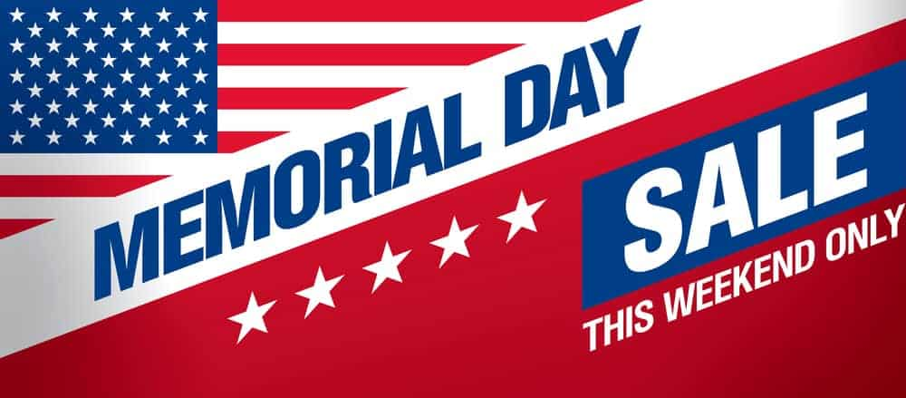 Memorial Day sale with the best deals and coupon codes.