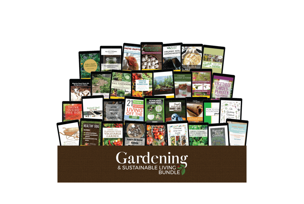 All of the available resources from this year\'s Gardening and Sustainable Living Bundle sale.