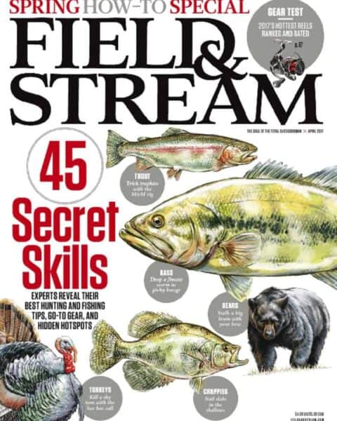 Field & Stream magazine cover