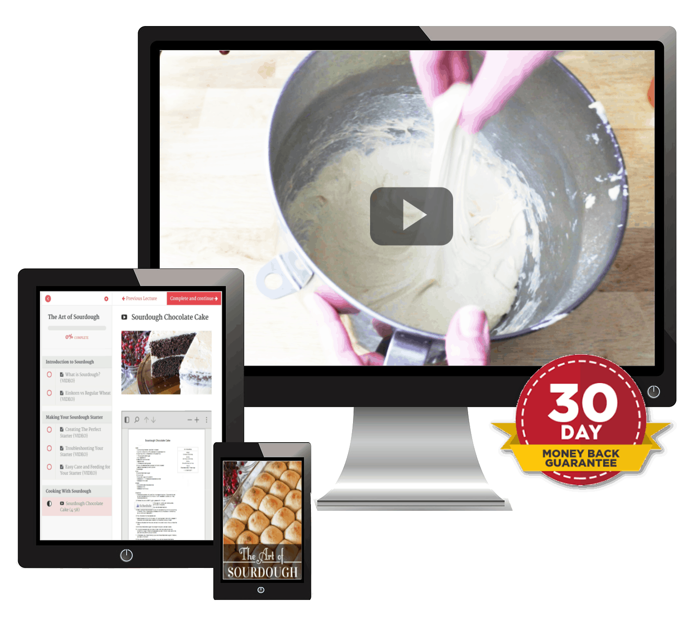 The Art of Sourdough eCourse is available at this low price for a limited time.
