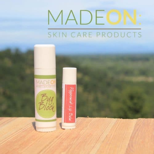 Made On natural skin care products available for women.