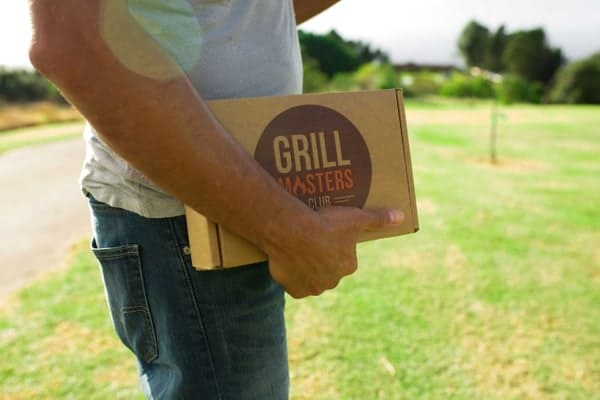 A Grill Masters box, one of the best subscription boxes for men.