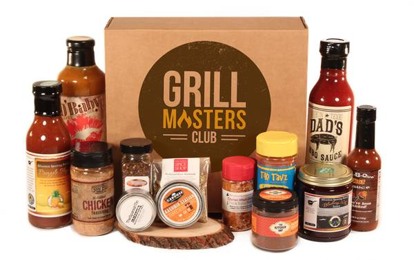 The Grill Masters Club for the best subscription boxes for men.