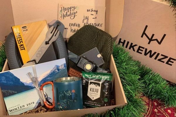 HikeWize, preparing explorers box.
