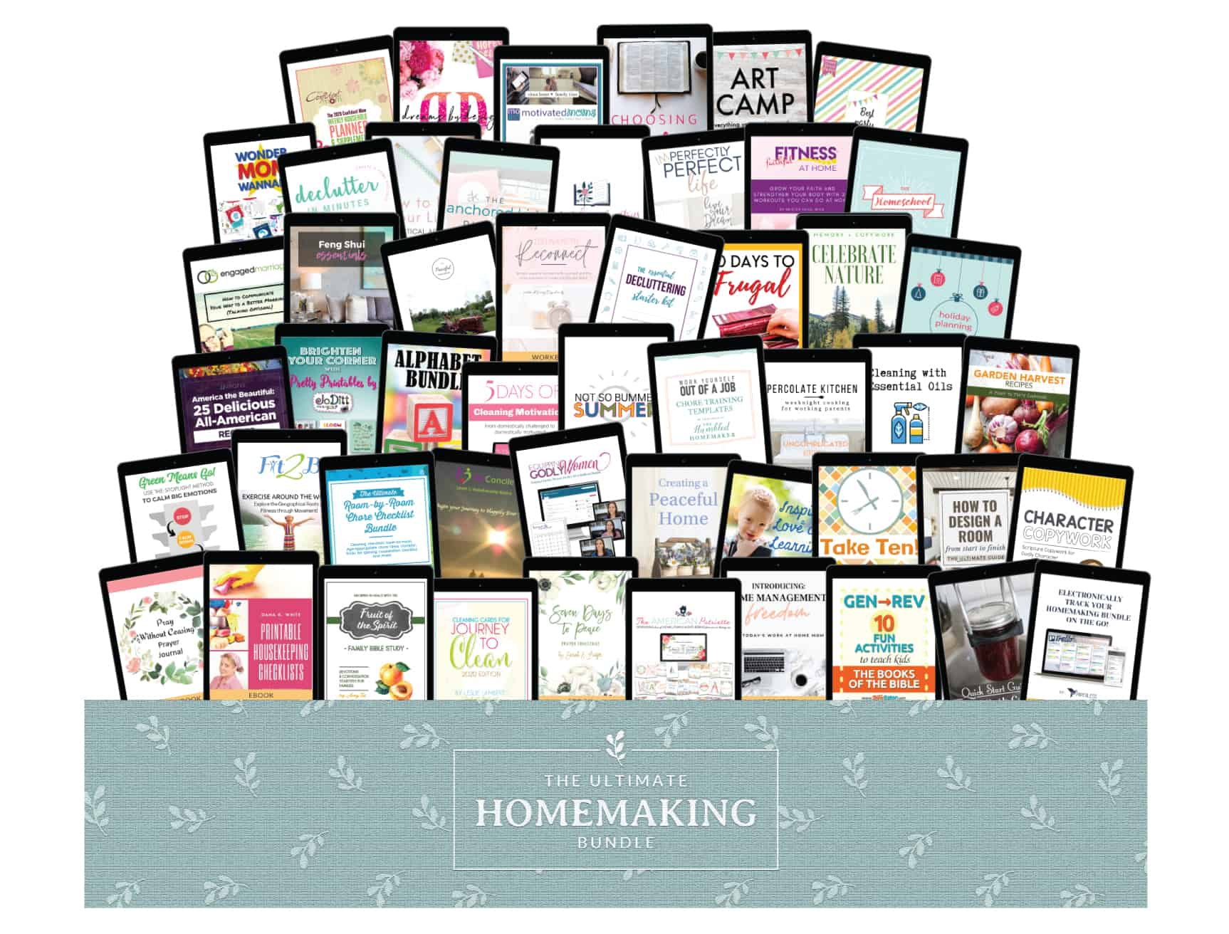 Ultimate Homemaking resources, printables, ebooks, and courses available right now!