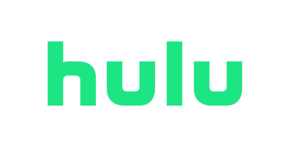 A close up of a hulu logo