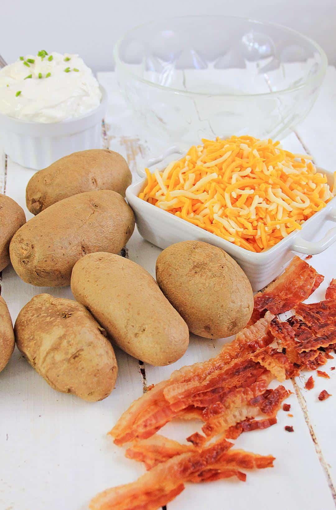 Loaded Baked Potato Salad Recipe Ingredients