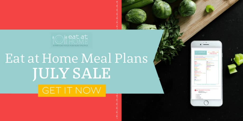 Eat at home meal plans this summer is now on sale.