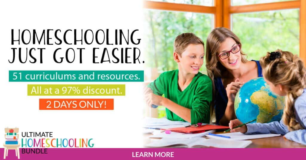 Homeschooling just got easier with the ultimate homeschooling bundle.