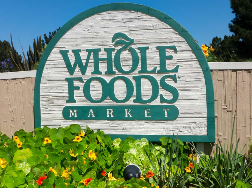 whole foods sign