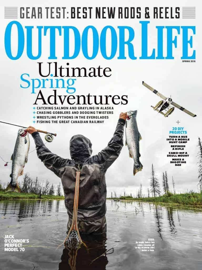 cover of outdoor life magazine