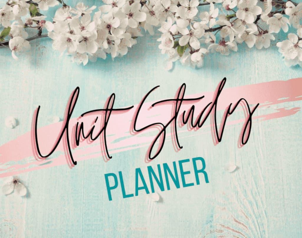 Free unit study planner.
