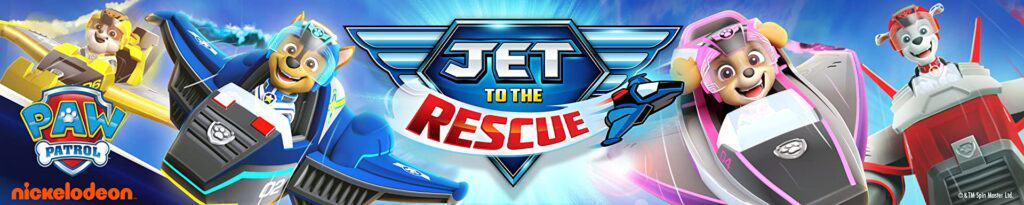 Jet to the Rescue Paw Patrol movie.