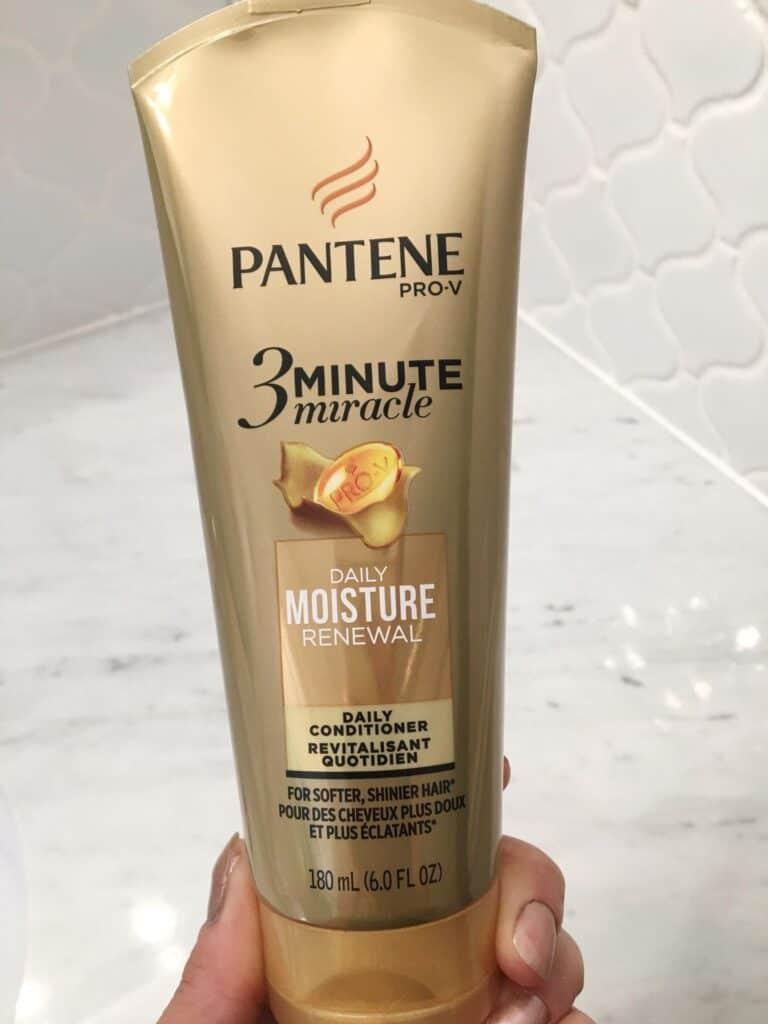Pantene pro-v 3 minute miracle daily moisture renewal.