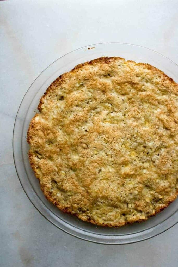 Old fashion apple pie dump cake.