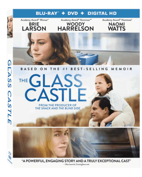 The Glass Castle movie box