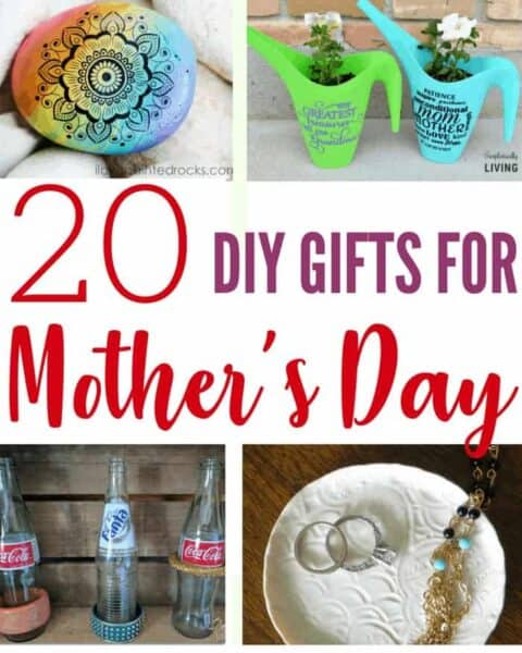 Mother's Day gifts to make