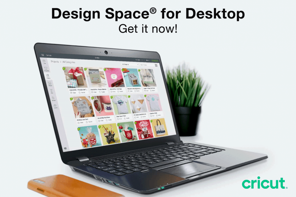 Cricut Design Space on a desktop or laptop