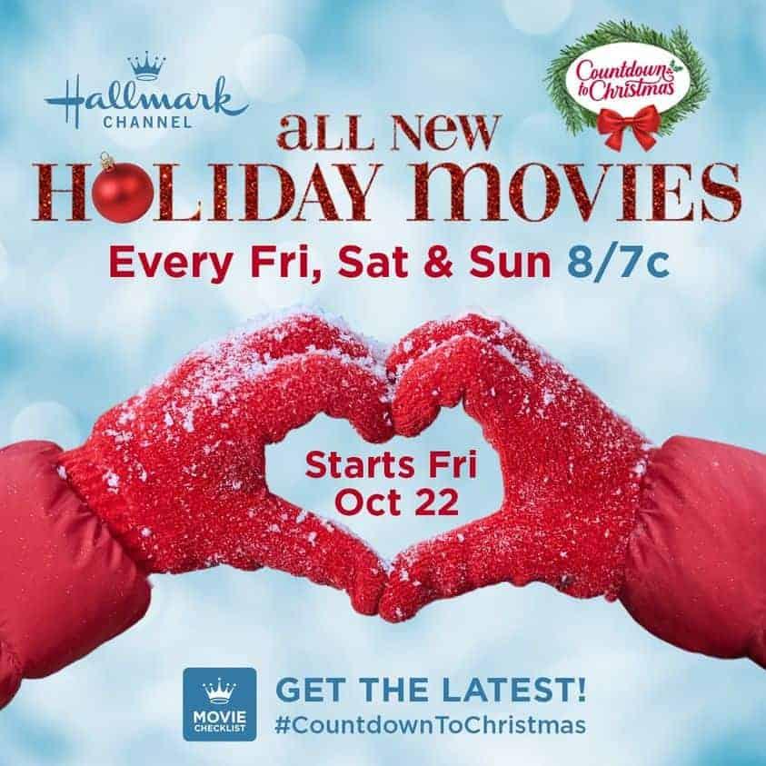 Hallmark Christmas movie schedule.