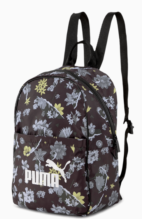 Puma  flower backpack on sale.
