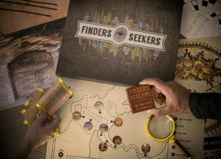 Finder's Seekers subscription box.