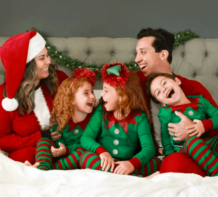 Family themed Matching Christmas Pajamas Sale