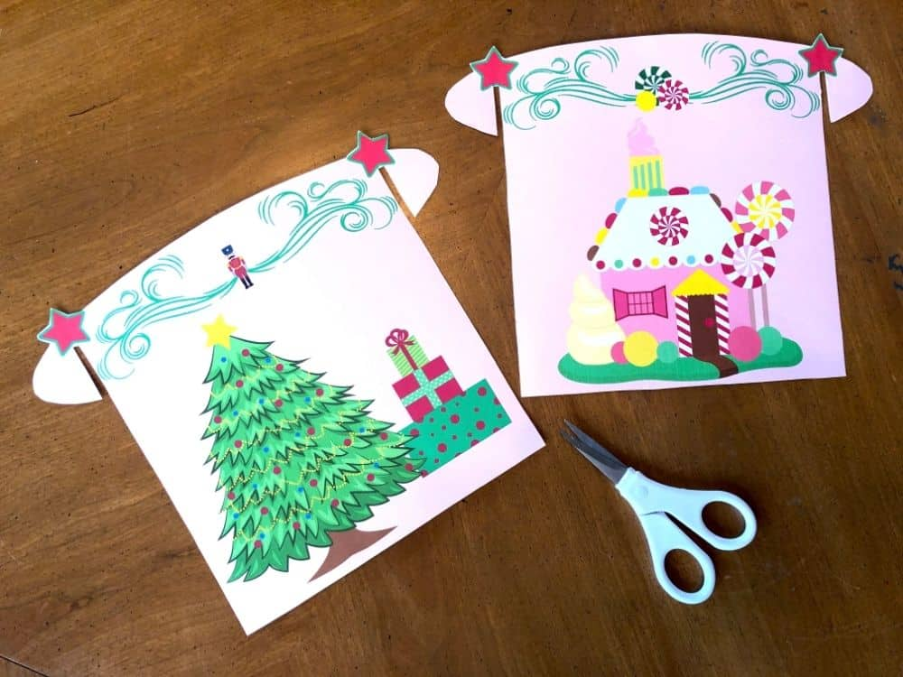 Scenes from The Nutcracker Story Printable Playset