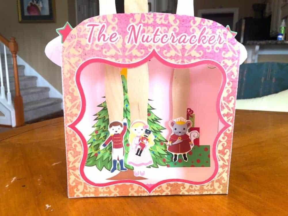 The Nutcracker Story Printable Playset