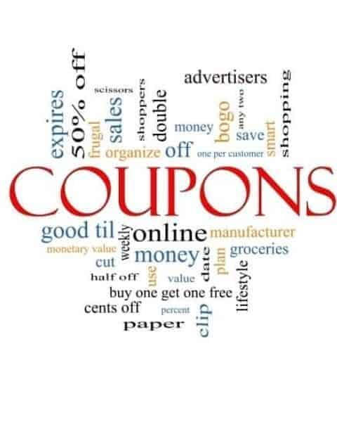 Coupons and common terms and meanings.