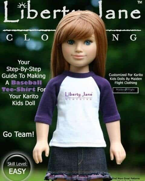 Liberty Jane American doll outfit patterns.