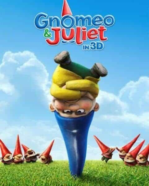 Cover of the movie Gnomeo and Juliet.