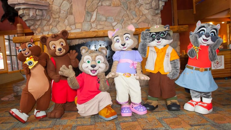 Fictional characters from Great Wolf Lodge.