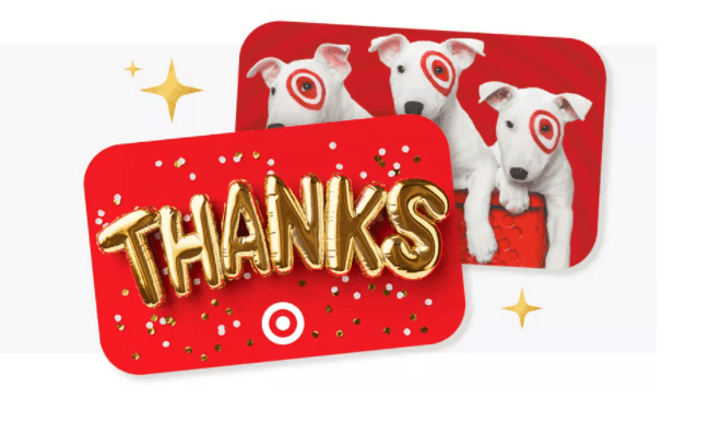 Target gift cards.