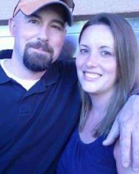 Kristie Sawicki from Saving Dollars and Sense and her husband.