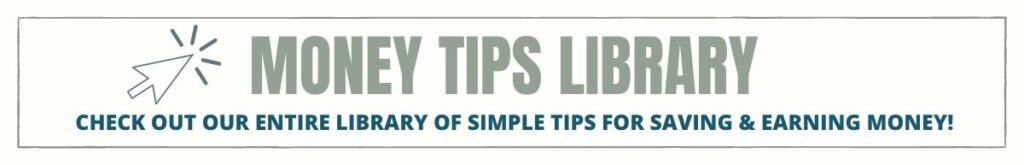 Money tips library.