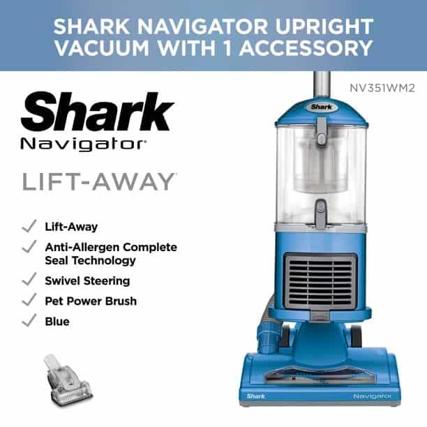 Shark navigator vacuum