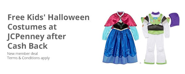 Free Halloween costumes at JC Penney.